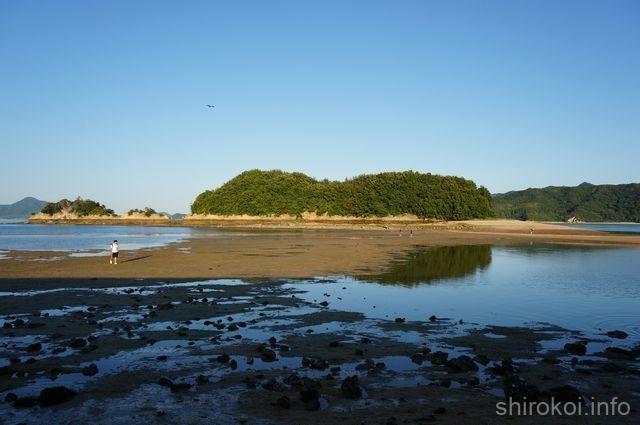 甘崎城の海割れ