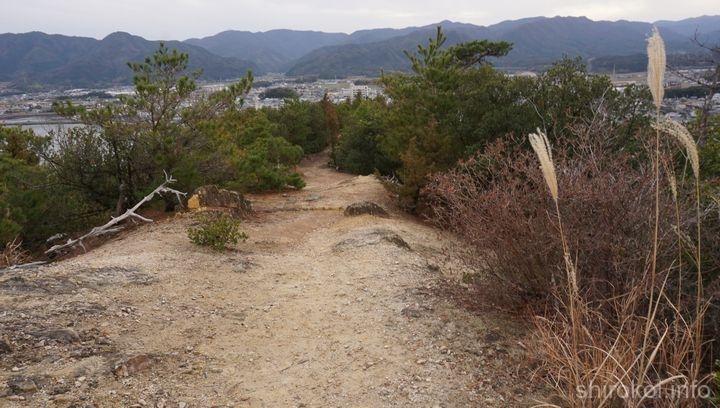引田港側登山道