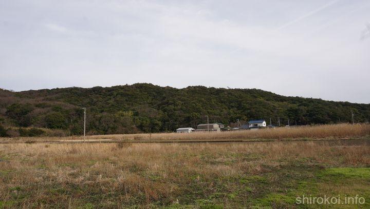 引田城遠景