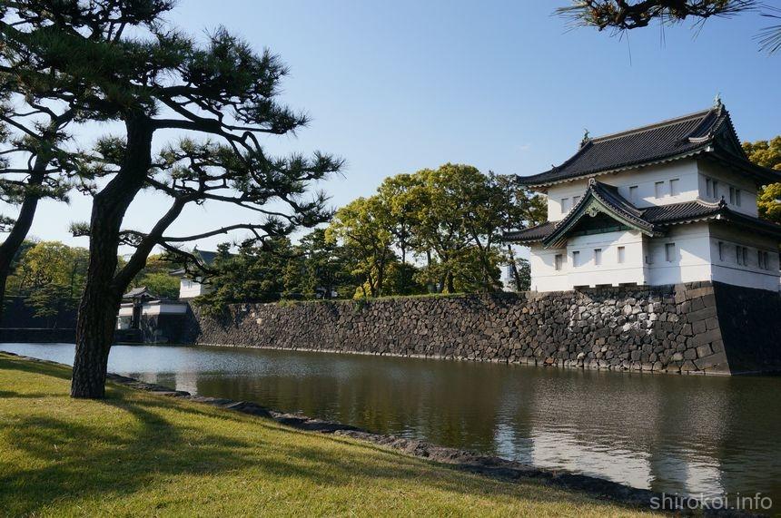 晴れの日の江戸城 巽櫓