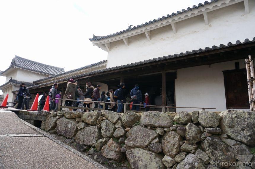 姫路城 「りの一渡櫓」