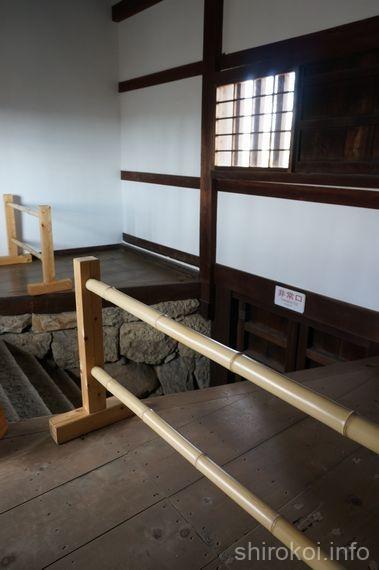 レの渡櫓 埋門