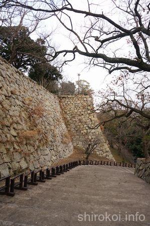 二ノ丸の高石垣