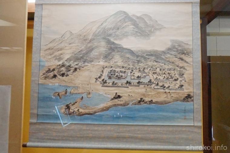 島原城 絵図
