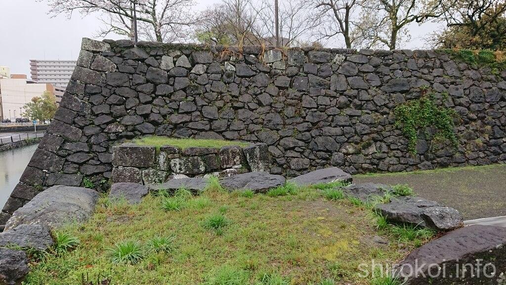 八代城 磨櫓跡