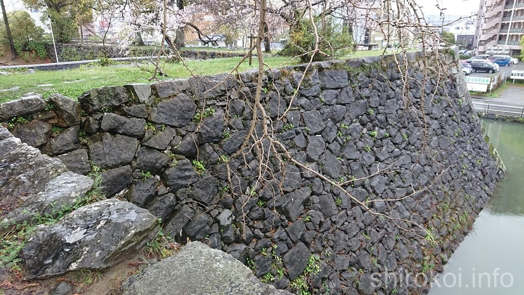 八代城 本丸 横櫓跡