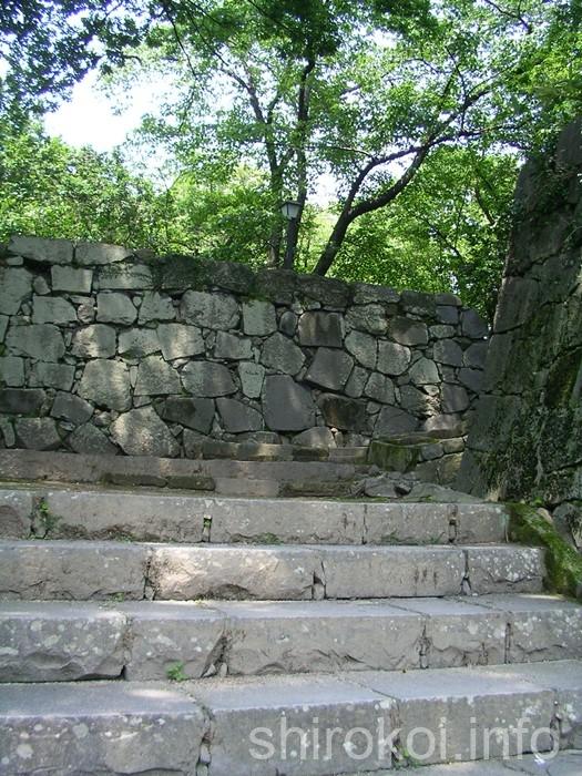 熊本城 五連続桝形へ