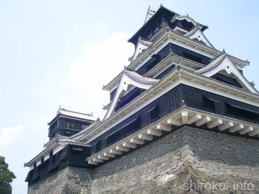 熊本城 大天守と小天守