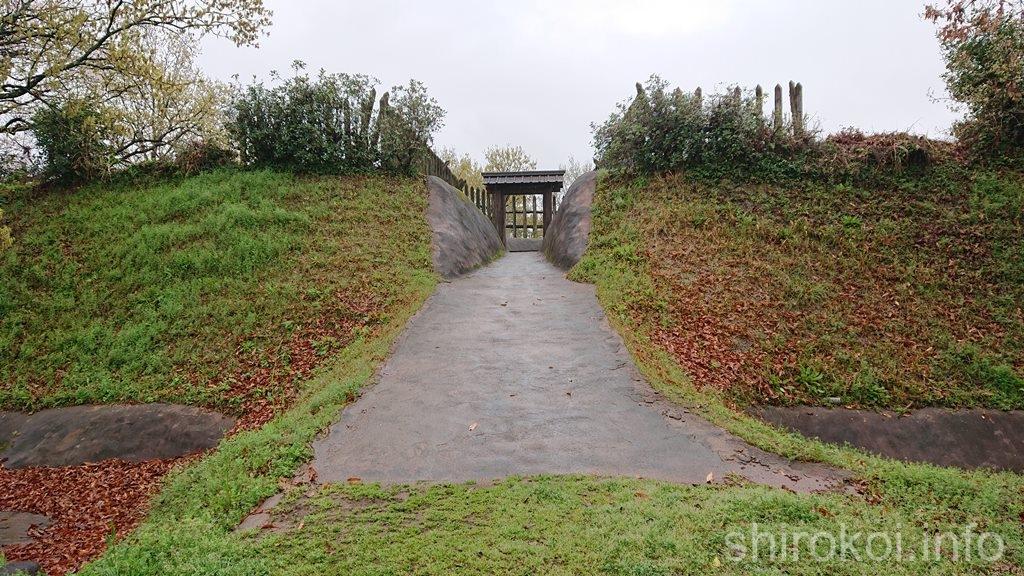宇土古城 城門と柵