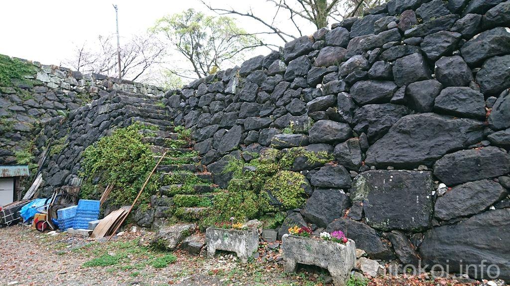 八代城 唐人櫓台跡の合坂